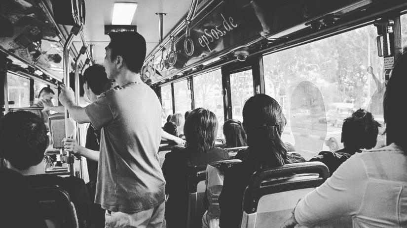 The Man on theBus
